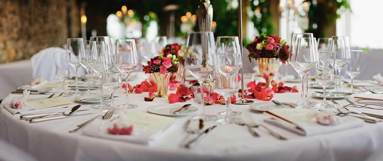 Mesas de casamento decoradas DIY